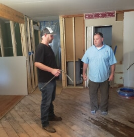 Modern Touch Contracting - Indianapolis Home Remodeling - Kitchen Construction project down to the studs