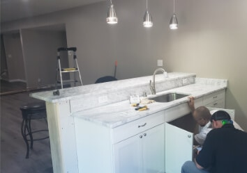 Modern Touch Contracting - kitchen remodel