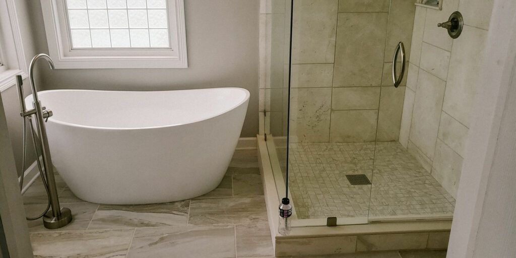 Noblesville Bathroom Remodel by Modern Touch Contracting in Indianapolis, Indian