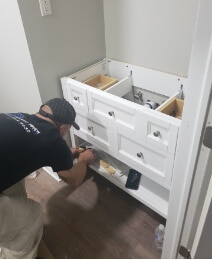 Modern Touch Contracting - bathroom remodel