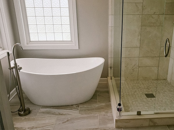 Modern Touch Contracting - Noblesville, Indiana Bathroom Remodel