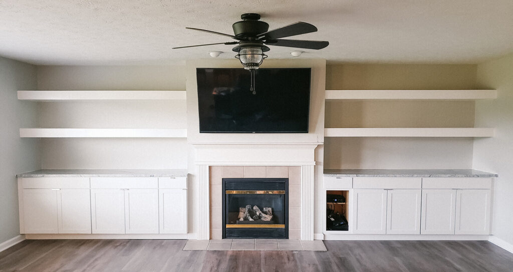 Indianapolis Home Remodeling company - custom built in cabinets
