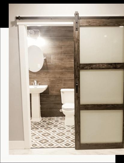 Indianapolis Bathroom Remodel Half Bath