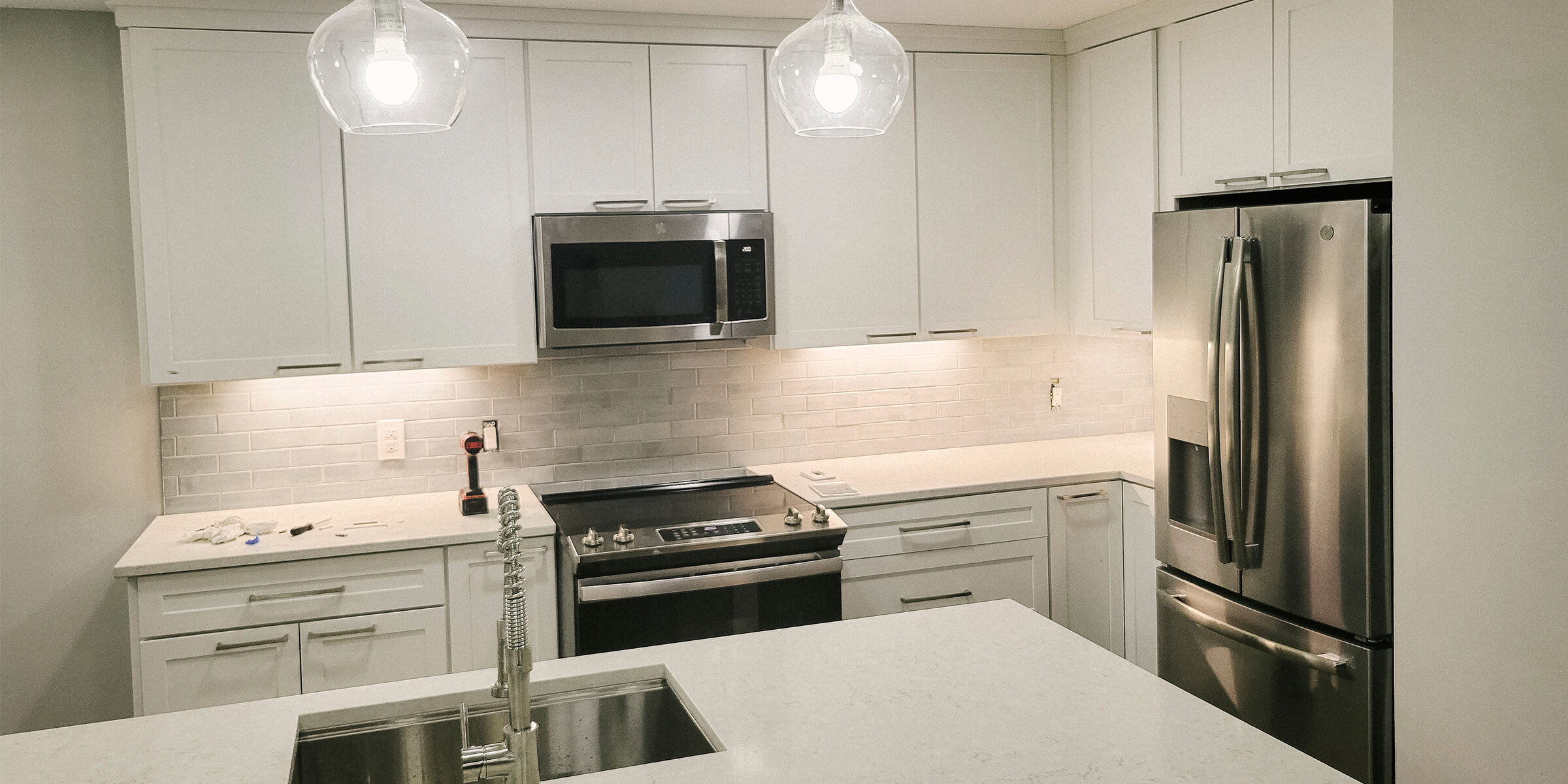 Downtown Indianapolis Kitchen Remodel - view of the kitchen